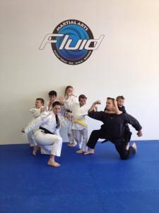 1st Quarter Karate Testing