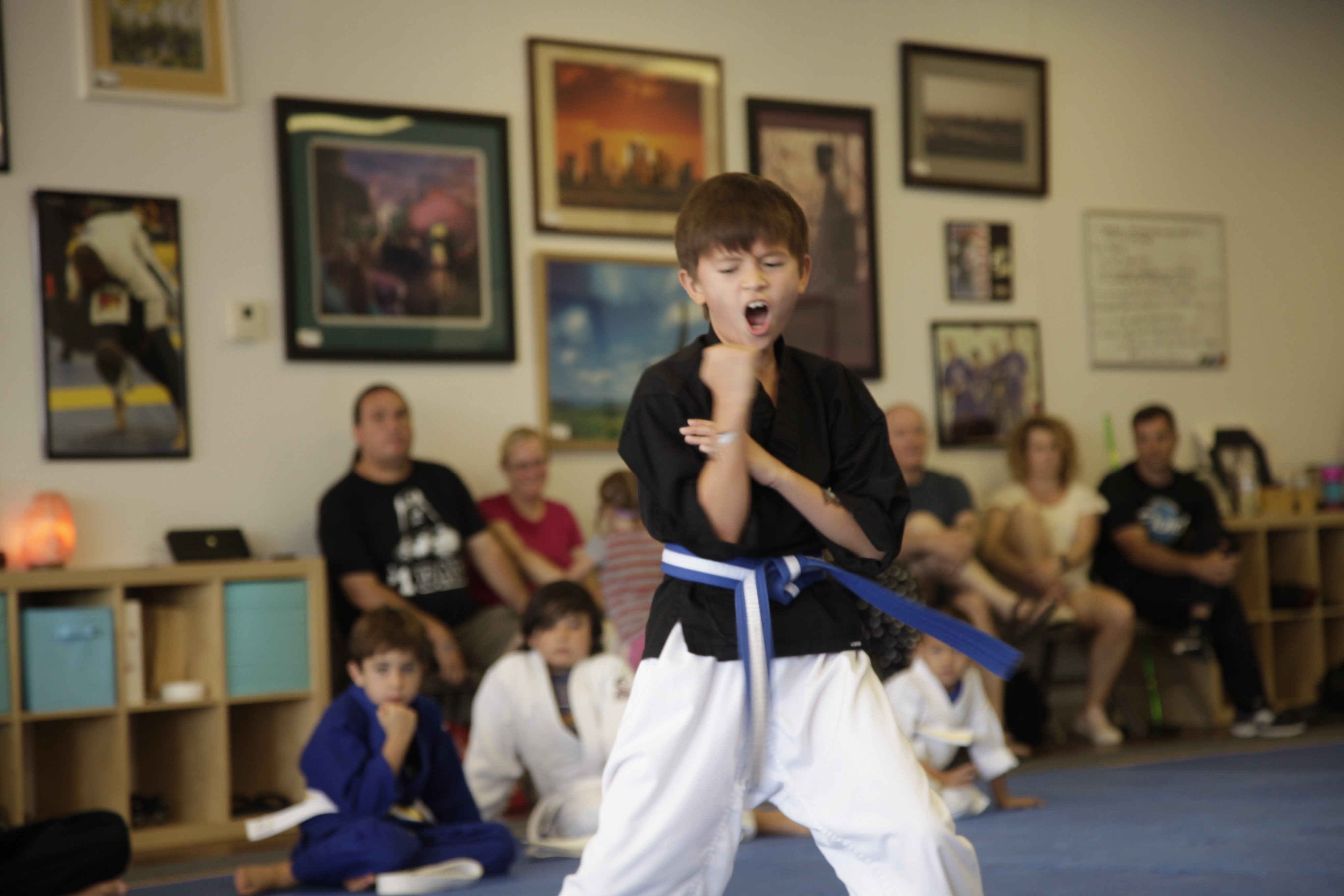 3rd Quarter Youth Kenpo Testing