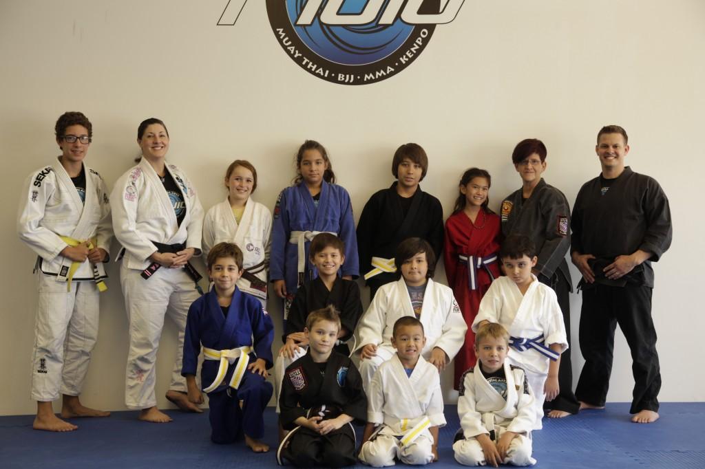 Kids Kenpo Group in June