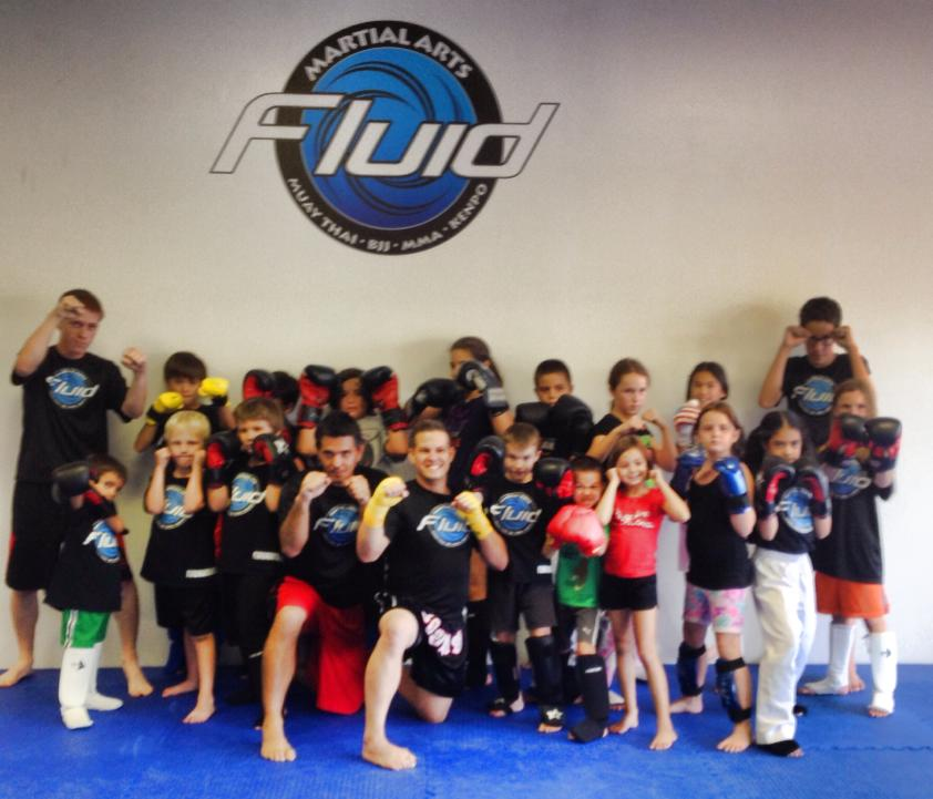 Fluid Martial Arts Youth Programs are Taking Off!